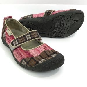KEEN HYBRID LIFE Harvest Plaid Mary Janes Shoes